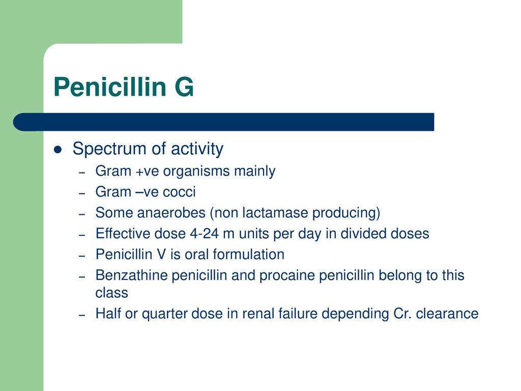 Antibiotics F A  Fehintola  - ppt download