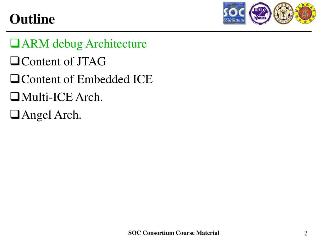 JTAG, Multi-ICE and Angel - ppt download