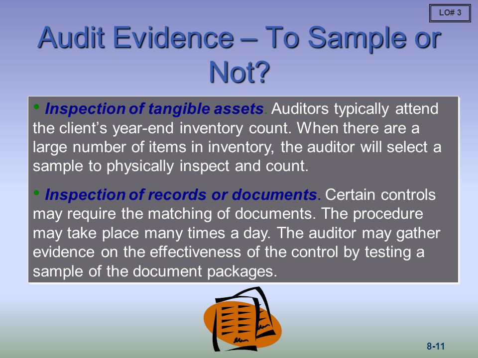 Audit Evidence – To Sample or Not