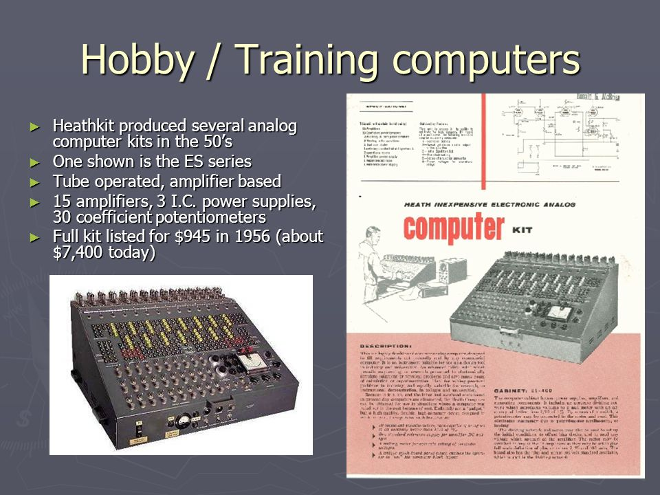 A Brief Tour of The History of Computers - ppt video online