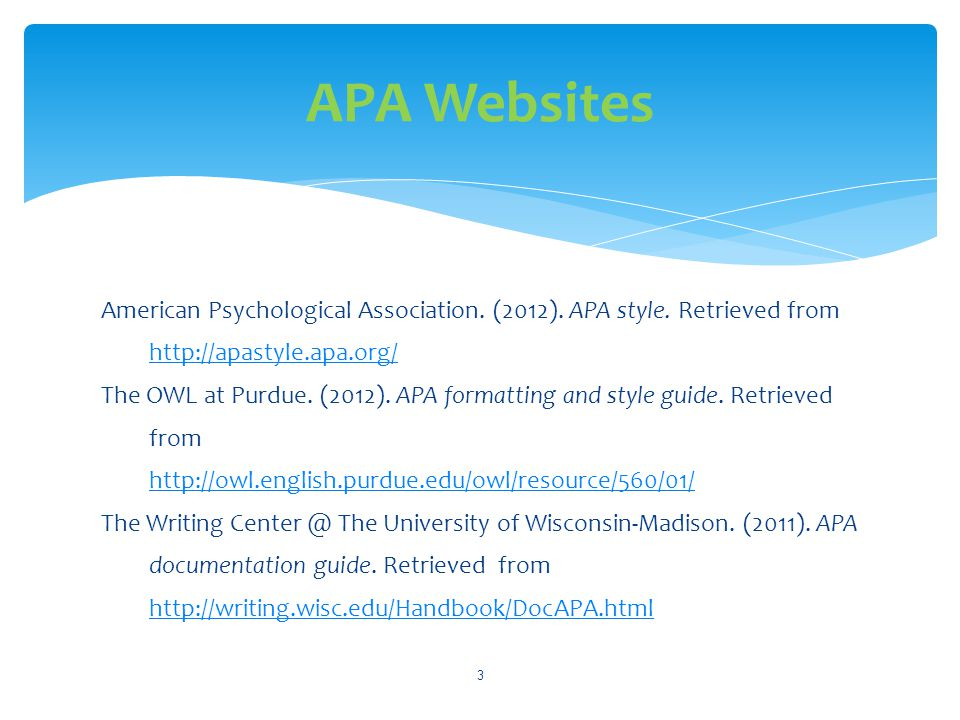 american psychological association apa citation guide ppt download