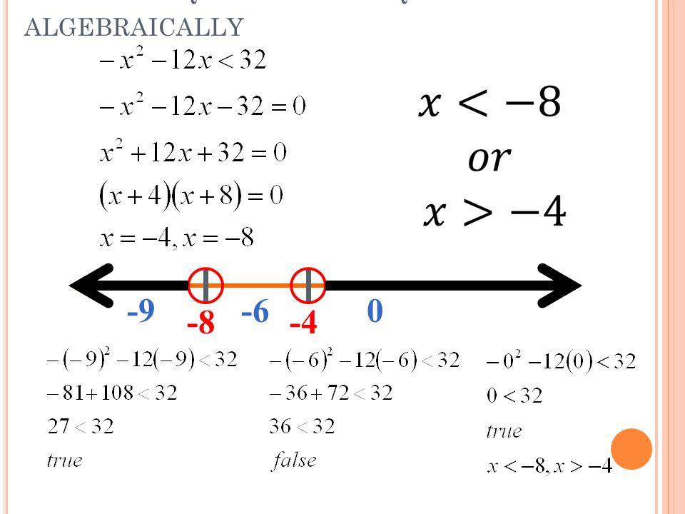 4 9 Solving Quadratic Inequalities Ppt Video Online Download