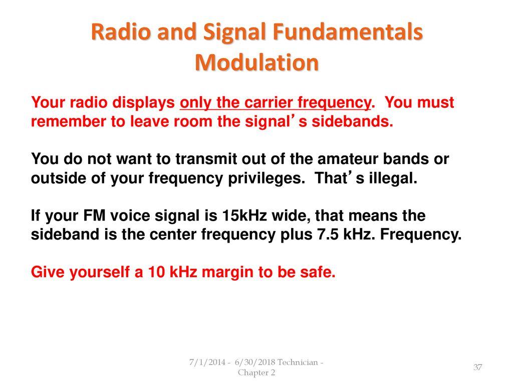 Radio and Signals Fundamentals - ppt download