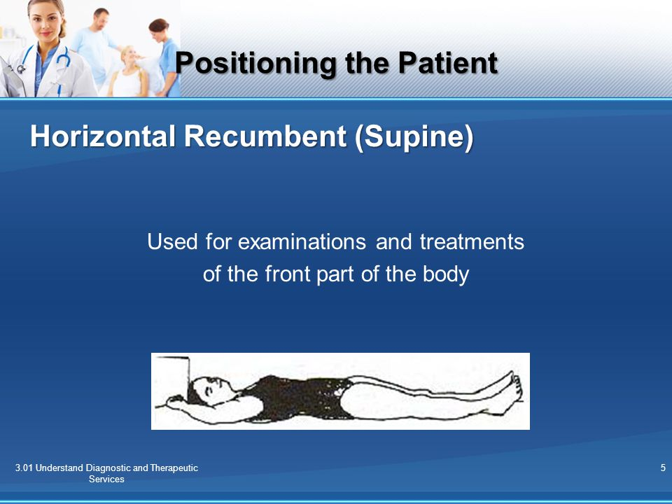 Horizontal Recumbent (Supine)