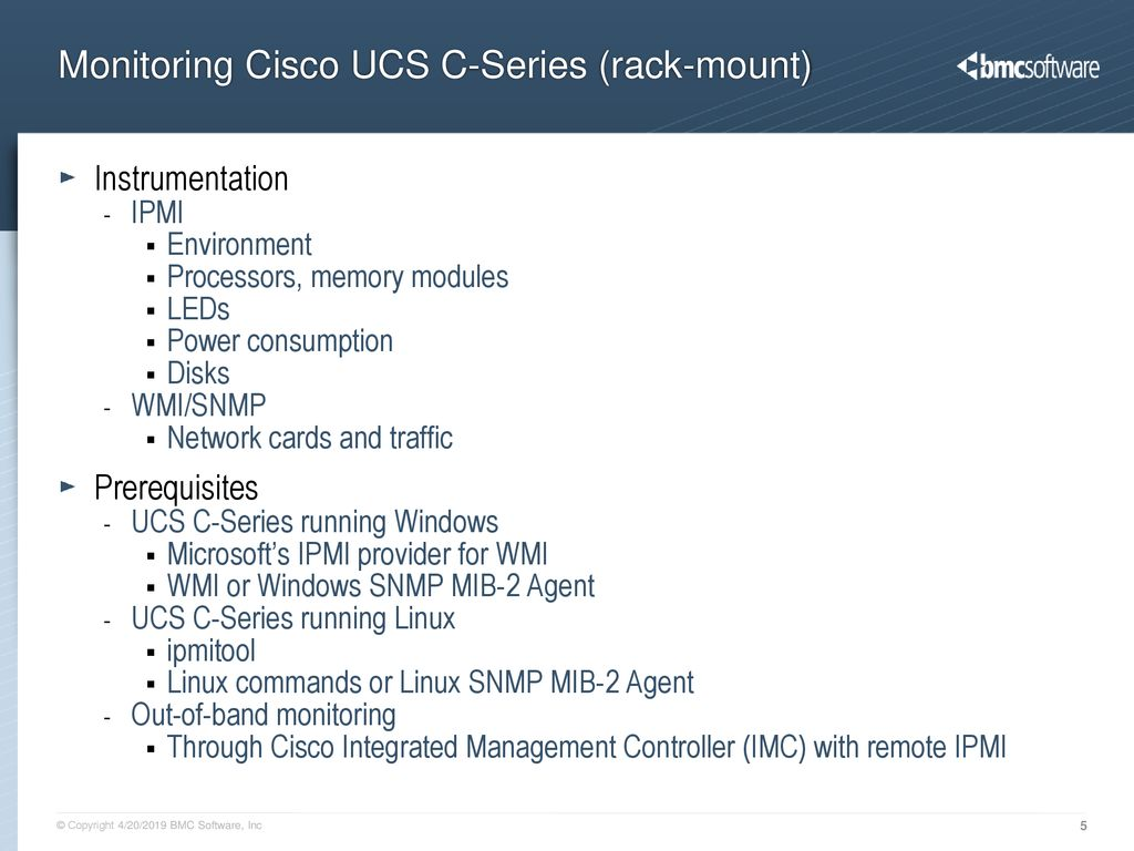 Cisco UCS Hardware Monitoring - ppt download
