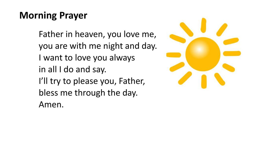 Image result for father in heaven you love me prayer