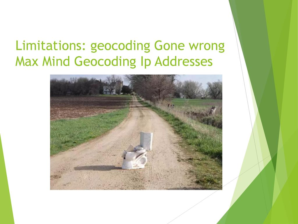 Modern Mapping Errors  - ppt download