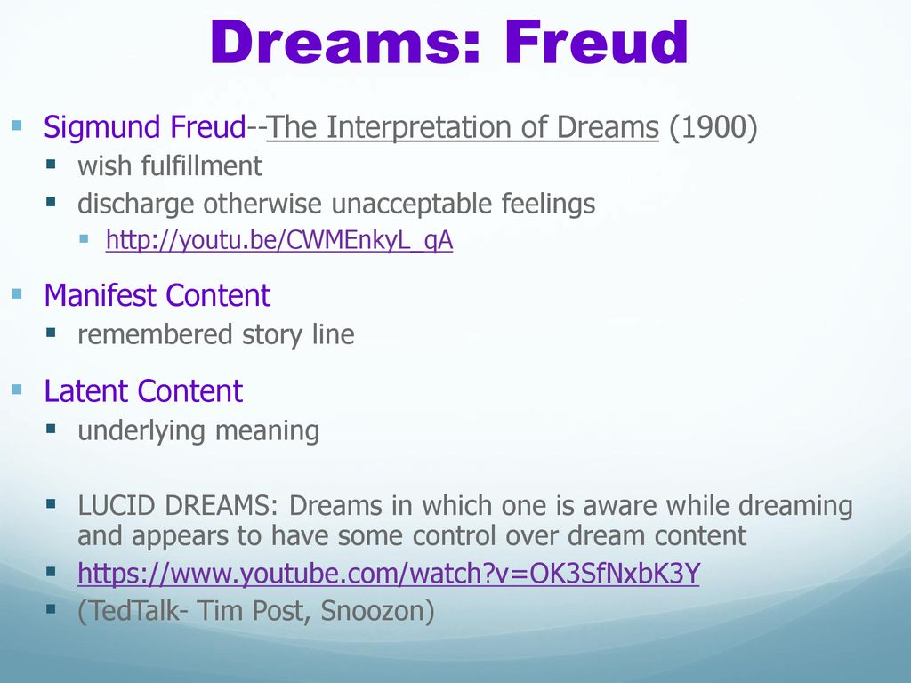Lucid Dreams Meaning