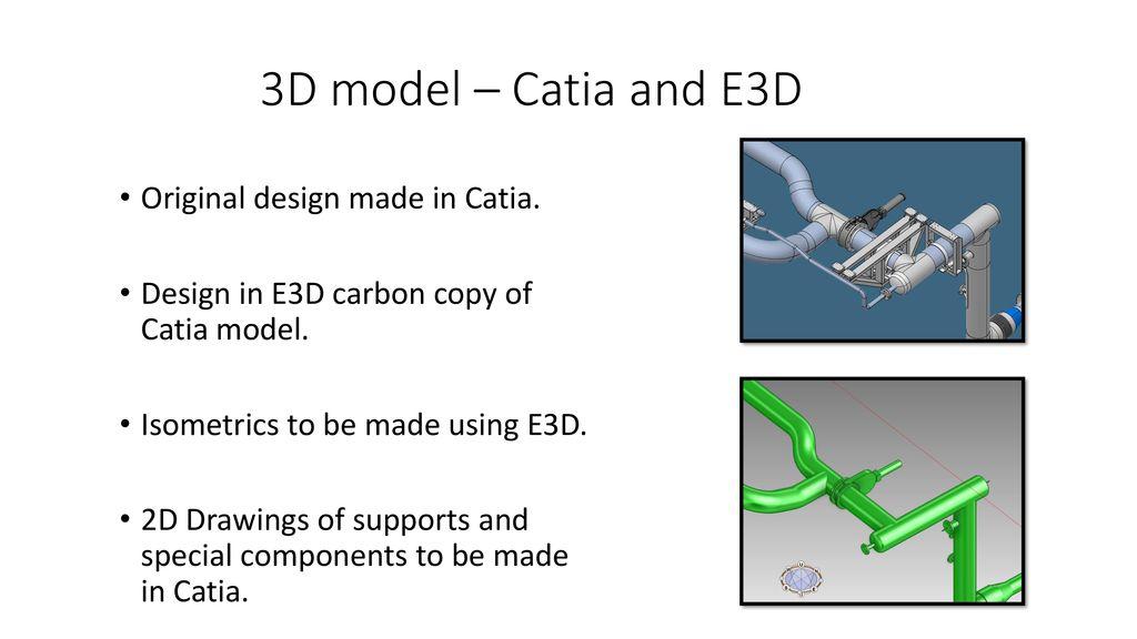 CDR -presentation Scope of design work 3D-model - ppt download