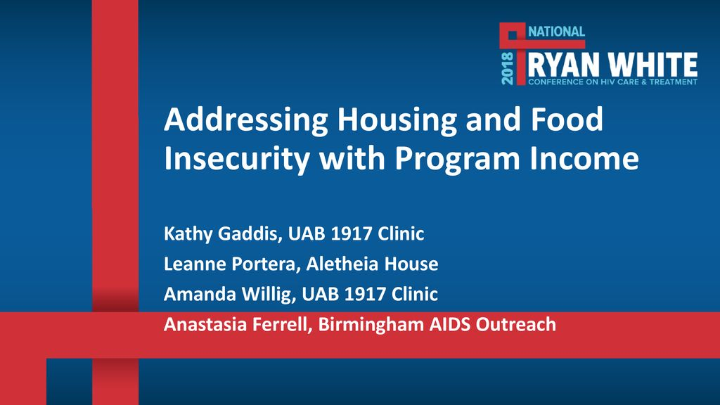 Addressing Housing And Food Insecurity With Program Income