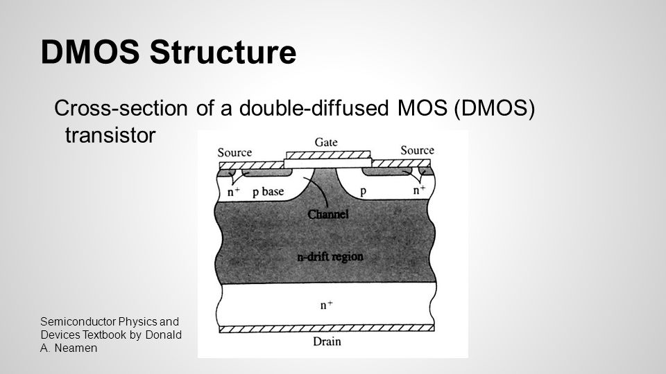power fet structure dmos and vmos ppt video online download rh slideplayer com