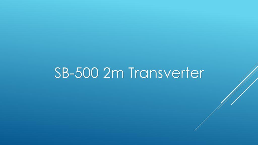 Transverter 2m