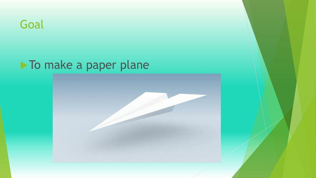 Paper Airplane Lab. - ppt video online download | 576x1024