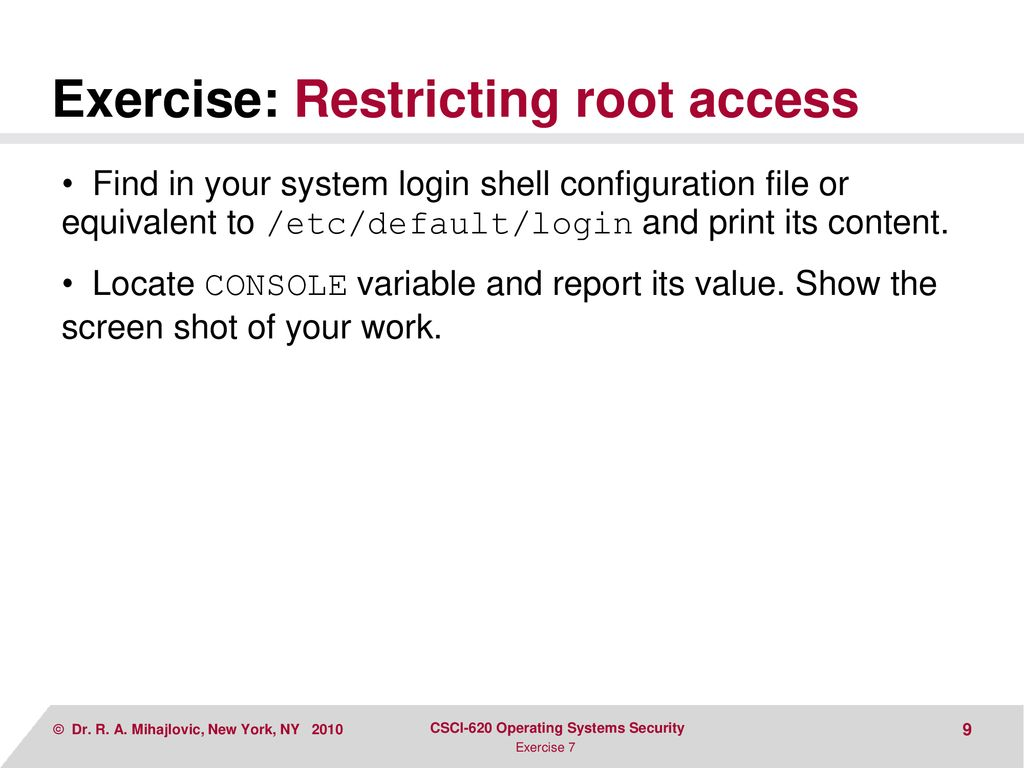 STANDALONE SYSTEM ACCESS CONTROL - ppt download
