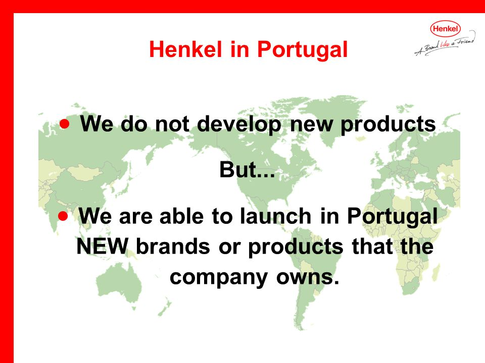 We do not develop new products