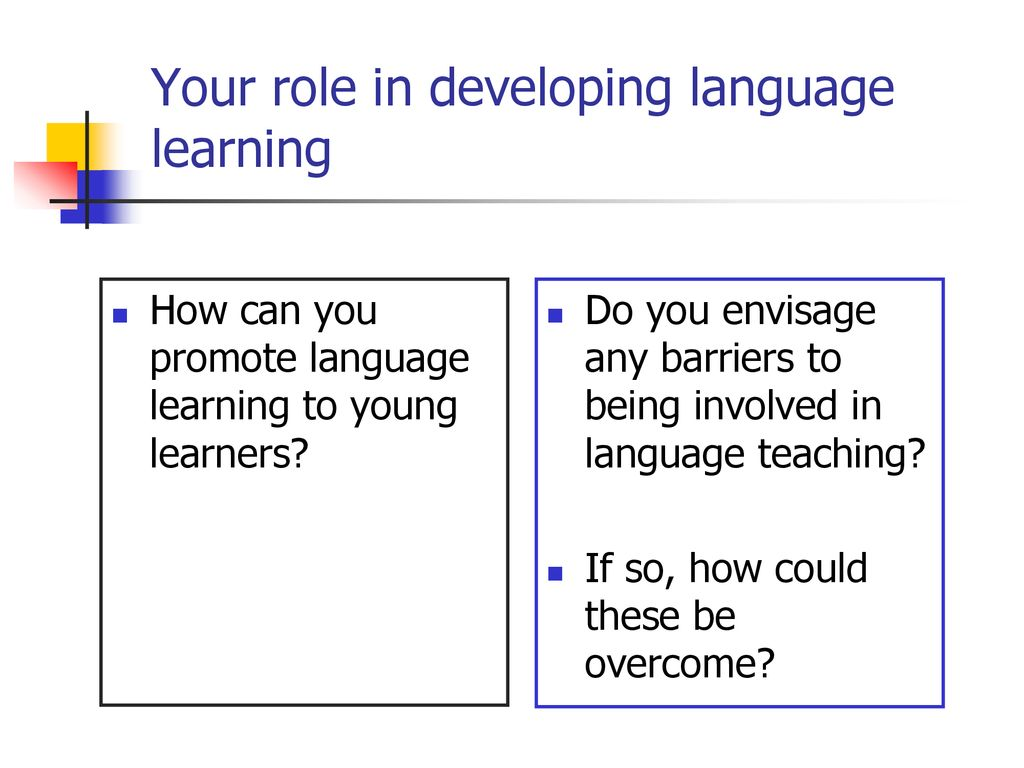 An Introduction to Primary Languages - ppt download