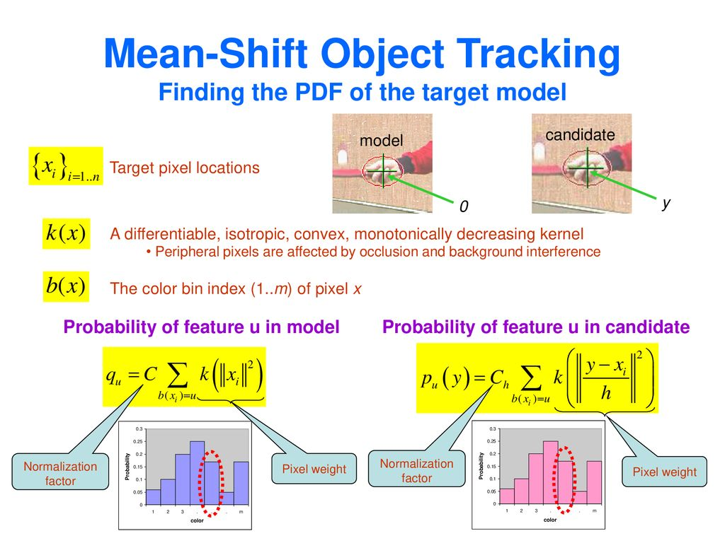 Mean Shift Theory and Applications - ppt download
