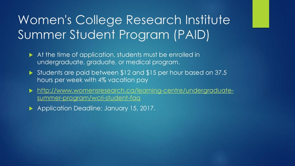 Finding meaningful undergraduate research - ppt download