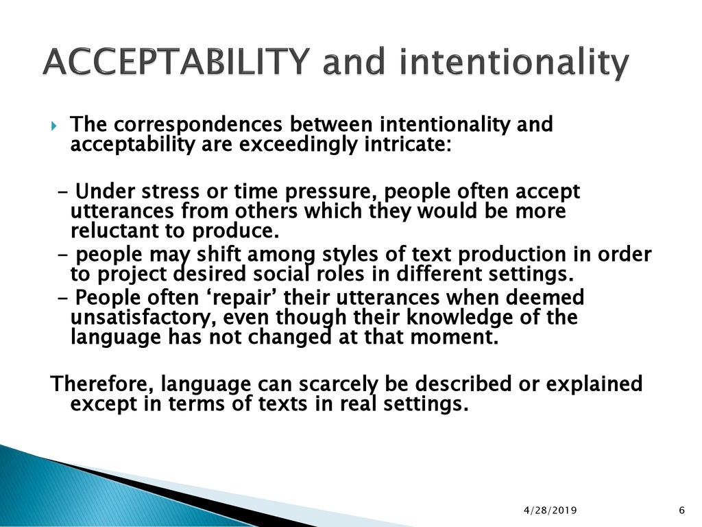 THE SEVEN STANDARDS OF TEXTUALITY - ppt download