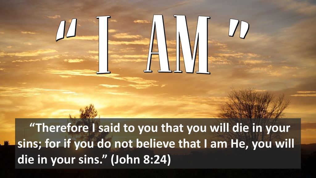 "I AM "" Wonderful ""I AM"" statements of Jesus in scripture: - ppt download"