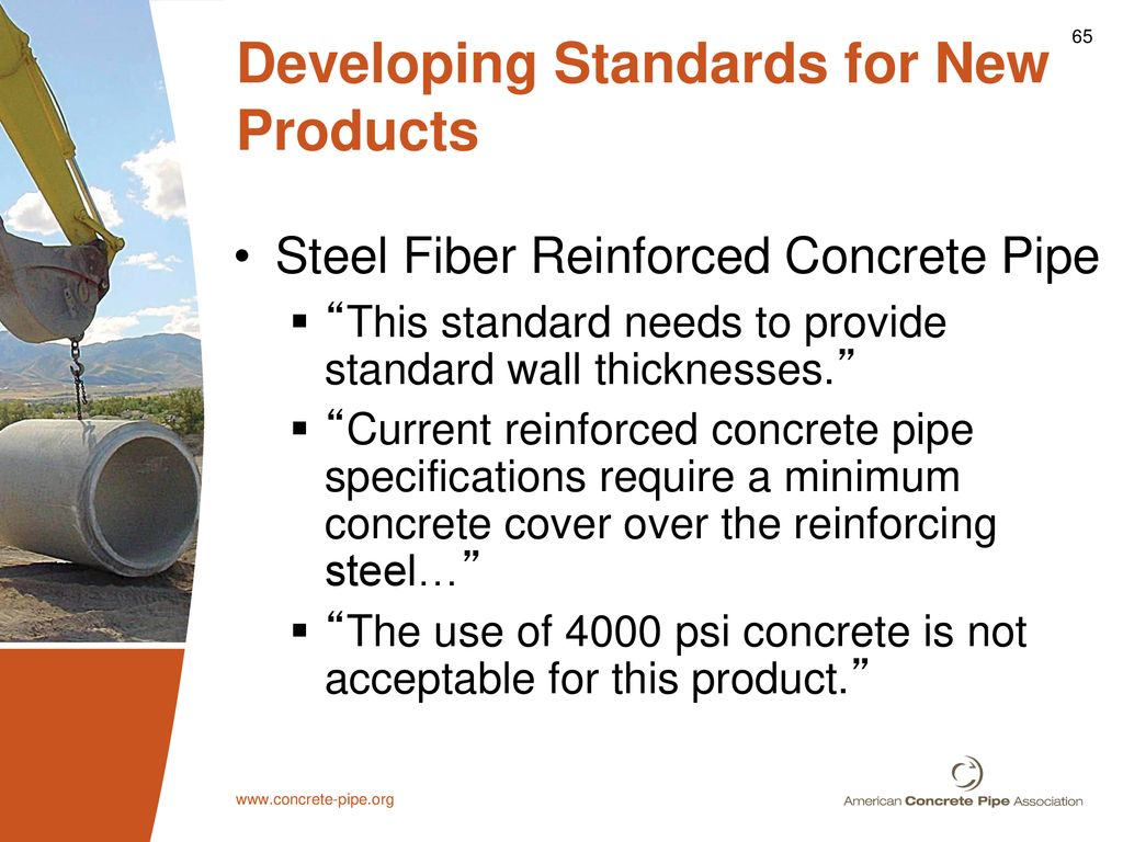 Concrete Pipe Of the Future - ppt download