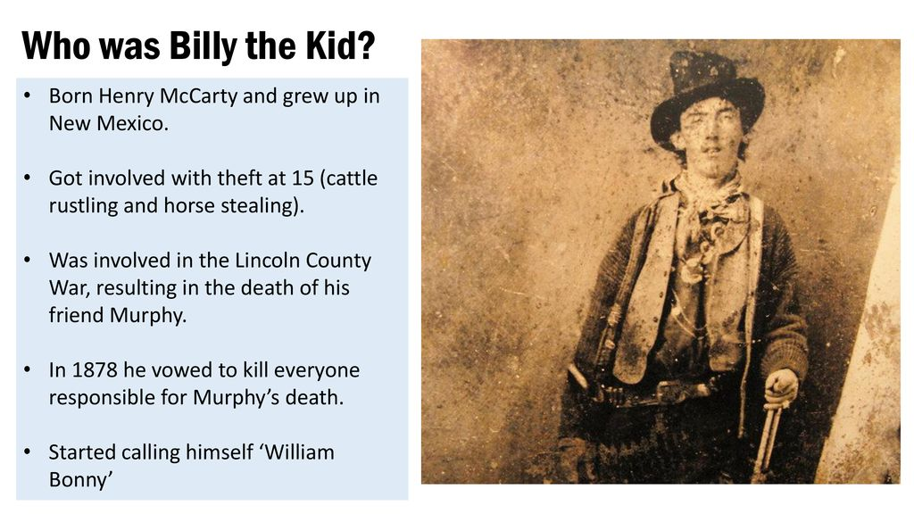 Was the 'wild west' really so lawless? - ppt download