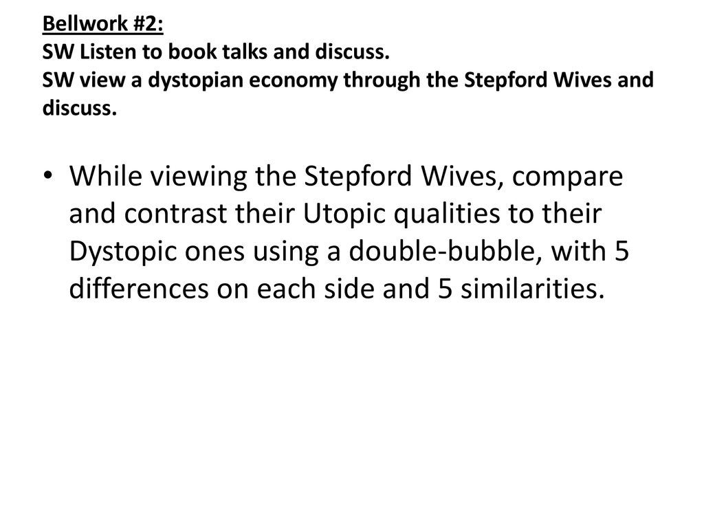 characteristics of a stepford wife