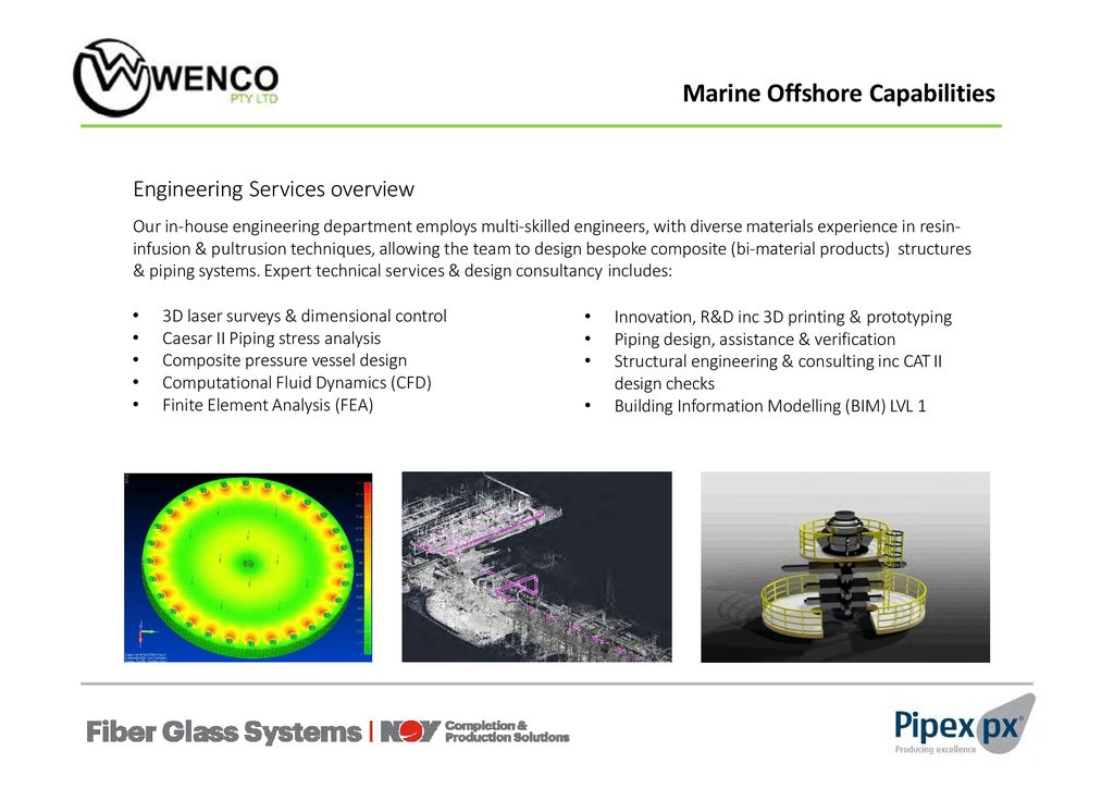 Weight and corrosion solutions for Marine & Offshore Applications