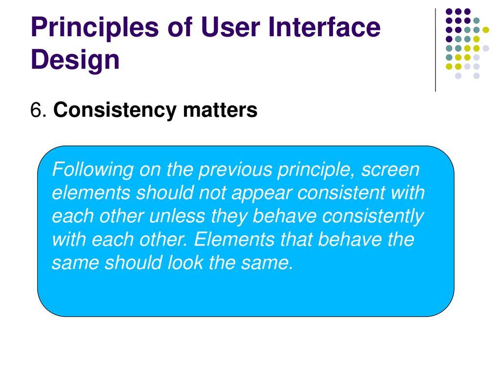 User Interface Design Scmp 368 Software Development Spring Ppt Download