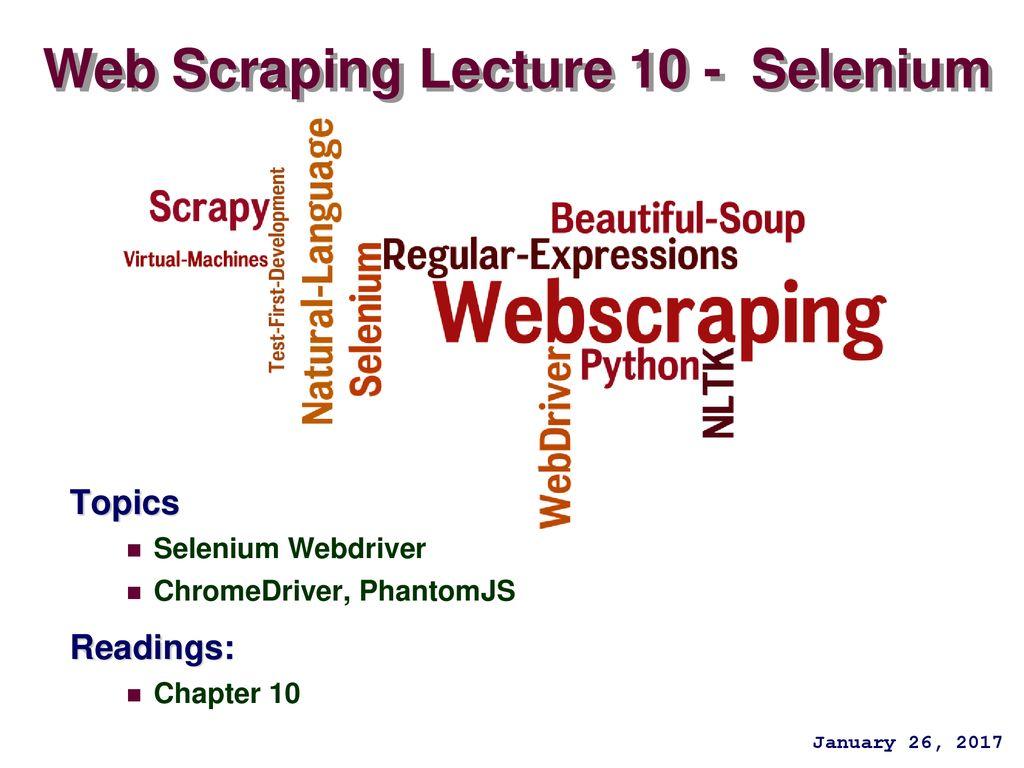 Selenium Chrome Profile Python