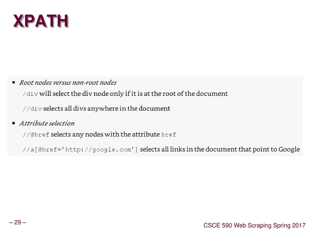 Web Scraping Lecture 10 - Selenium - ppt download