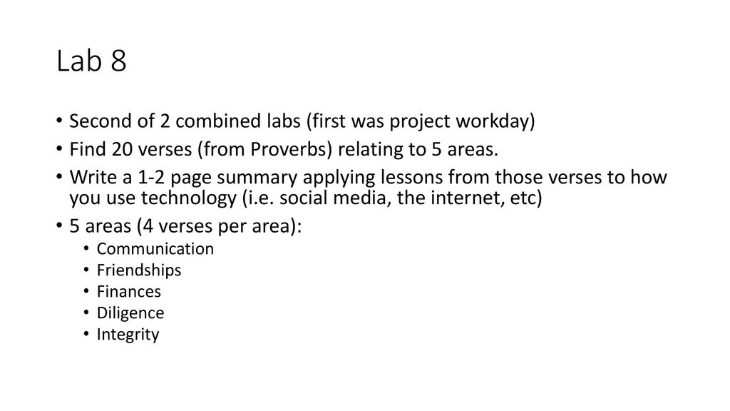 Biblical Philosophy of Technology - ppt download