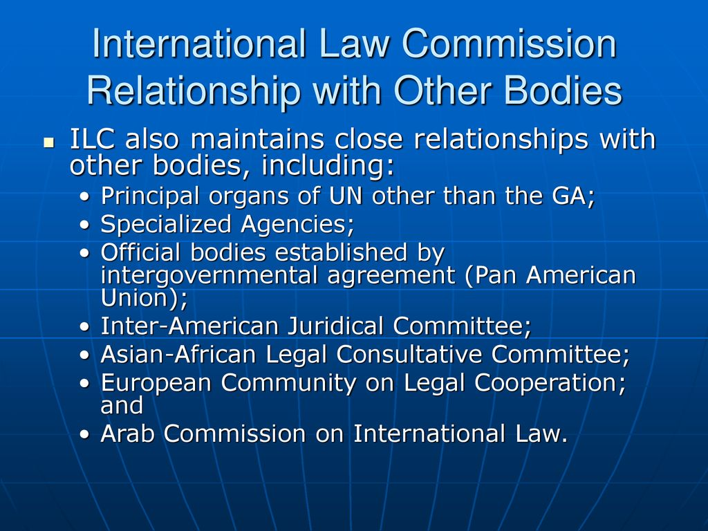 International Treaty Law: The Role of the Office of Legal