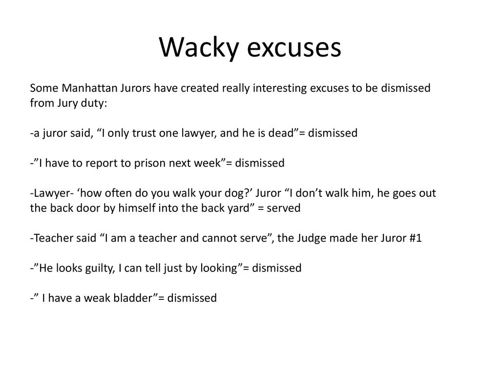 Jury Duty and Rights of the accused - ppt download