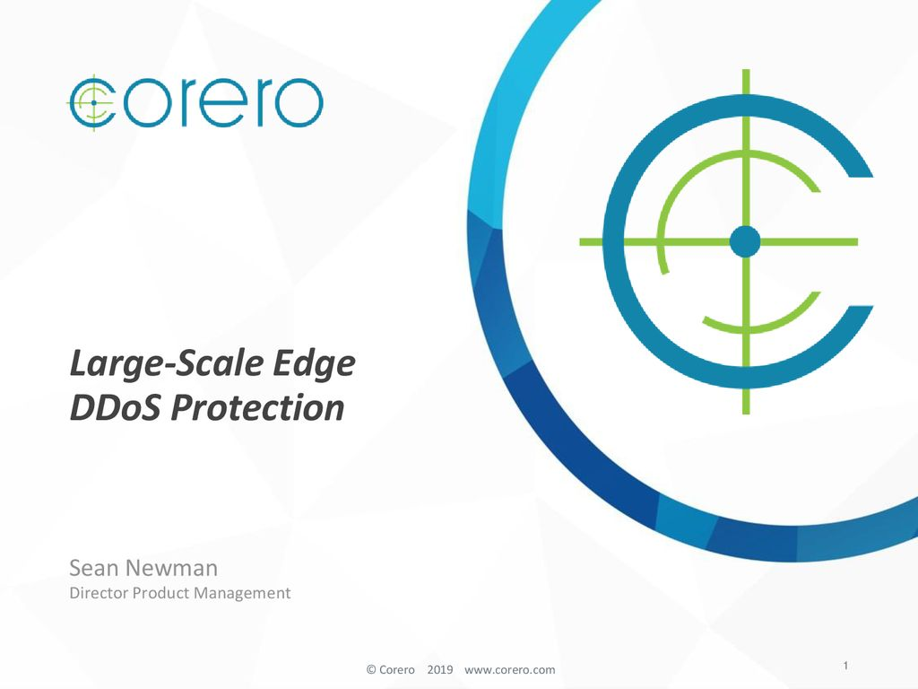 Large-Scale Edge DDoS Protection - ppt download