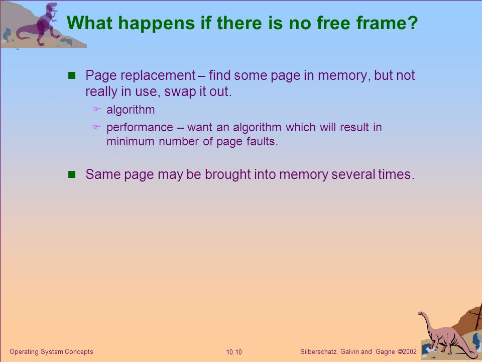 Chapter 10 Virtual Memory Ppt Video Online Download