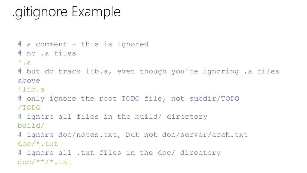 Git Fundamentals  - ppt download