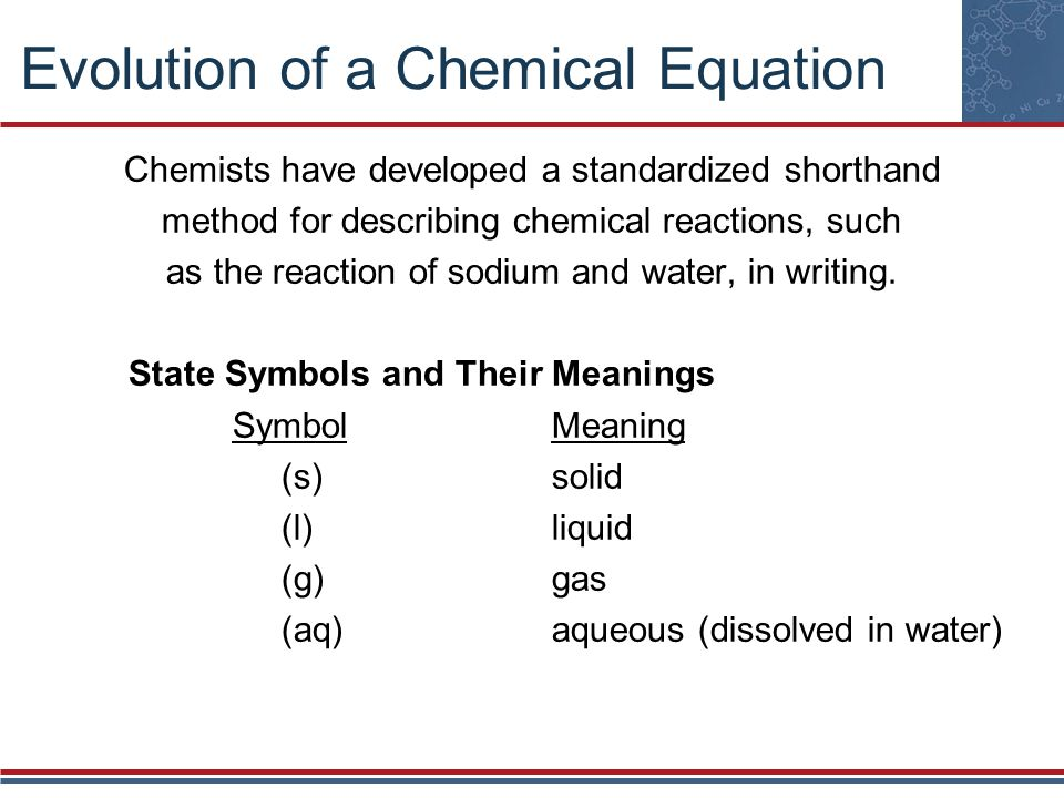 Chapter 8 Chemical Reactions Ppt Video Online Download