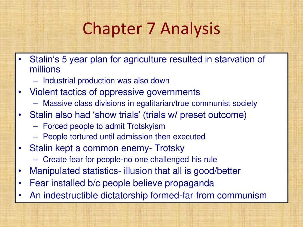 Animal Farm Chapters 7-8 Summary/Analysis - ppt download