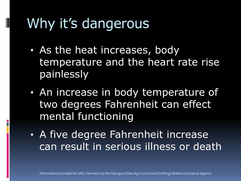what body temp is dangerous