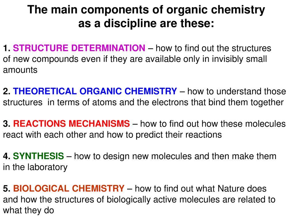ORGANIC CHEMISTRY 1 Prof  Janina E  Kamińska - ppt download