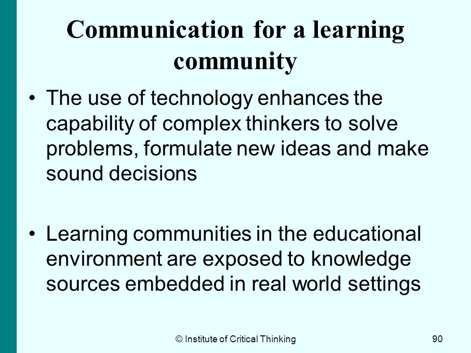 essay on learning communities Sample reflective essay #2 author: nekisa mahzad i have been a student at california state university channel islands (ci) for 5 semesters, and over the course of my stay i have grown and learned more that i thought possible i came to this school from moorpark community college.