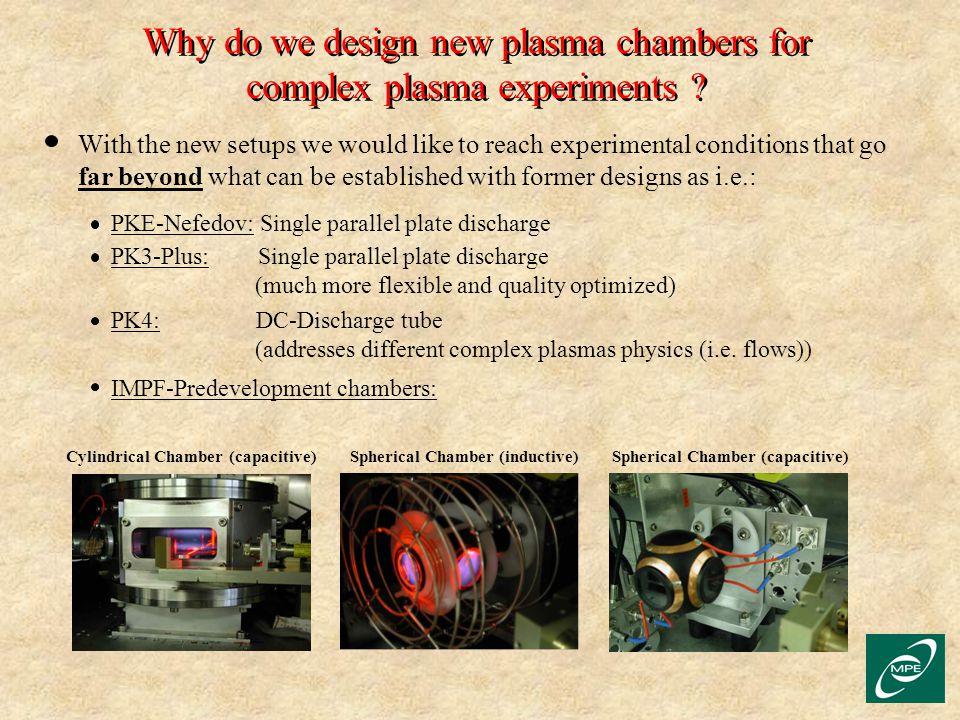 "New, ""Flexible"" Plasma Devices for Complex Plasma"