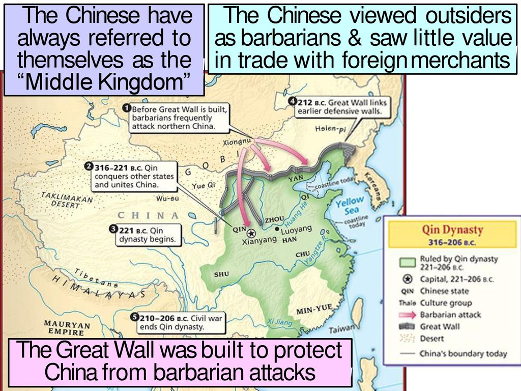 The Chinese Have Always Referred To Themselves As The Middle Kingdom Ppt Download