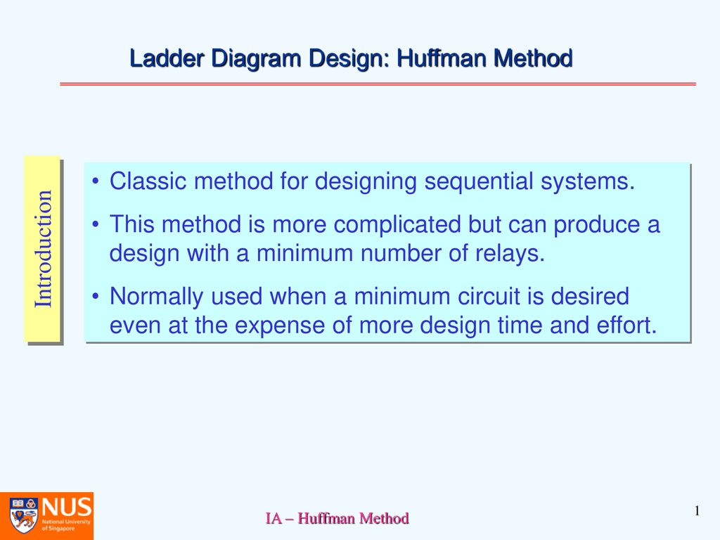 Ladder Diagram Design Huffman Method Ppt Download