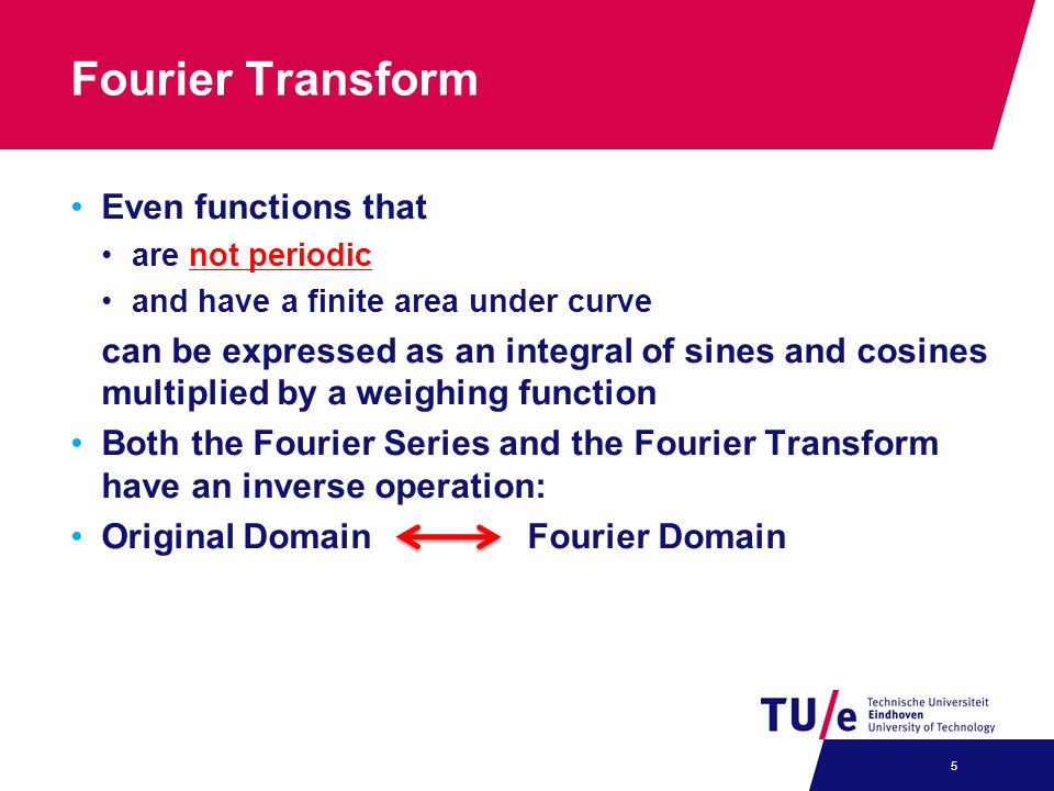 Fourier Transform Even functions that