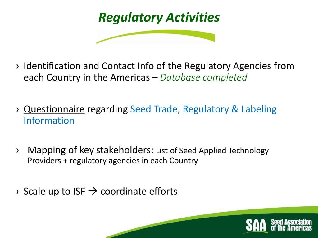 Seed Treatment Working Group - ppt download