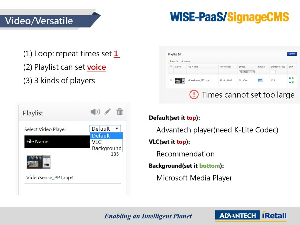 WISE-PaaS/ SignageCMS - ppt download