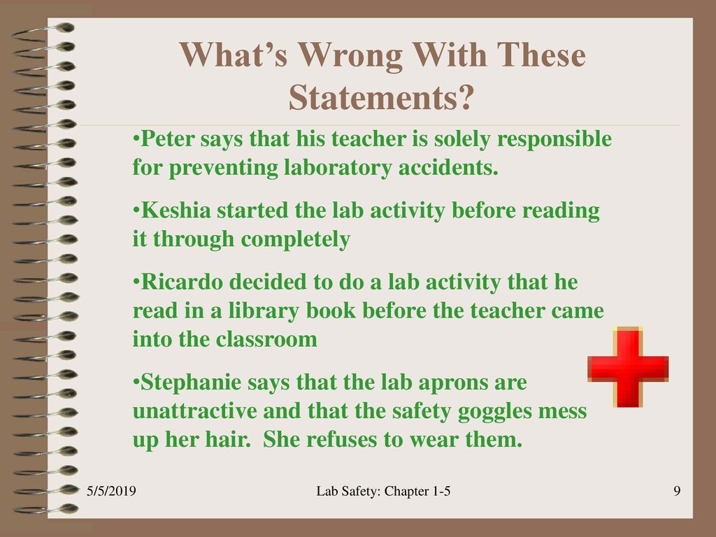 Safety in the Science Lab - ppt download
