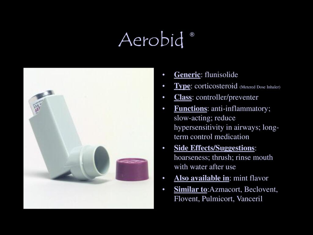 Asthma Medication Flashcards - ppt download